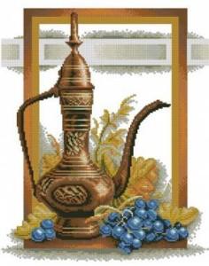 Схема Кувшин и виноград