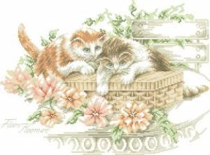 Схема Котята в саду