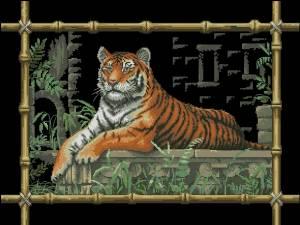 Схема Бамбук тигра / Bamboo Tiger