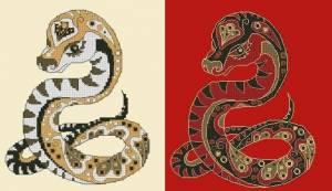 Схема Змея (в двух цветовых вариантах)