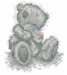 Схема С цветком