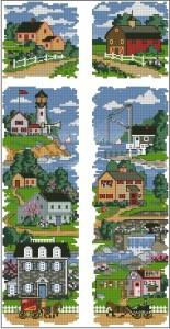 Схема Городской пейзаж. Триптих