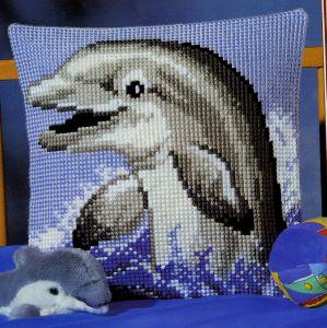 Схема Дельфинчик. Подушка