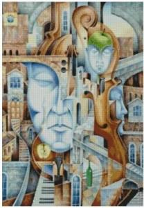 Схема Город Музыки - А