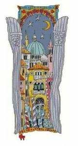 Схема Венецианское окно. Купол