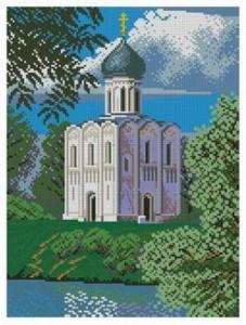 Схема Храм Покрова на Нерли