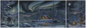 Схема Зимний триптих