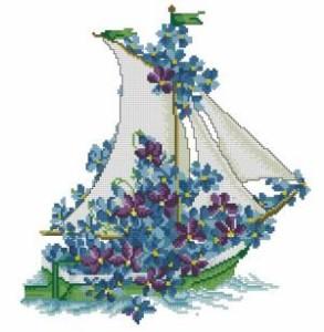 Схема Цветочный кораблик