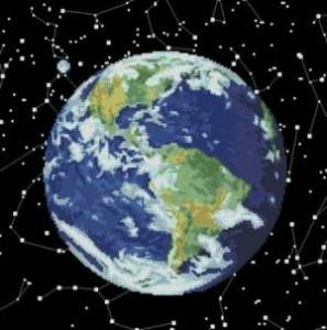 Схема Планета Земля