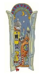 Схема Венецианское окно. Башня