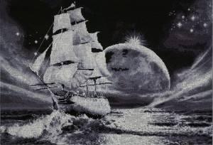 Схема Лунный путь