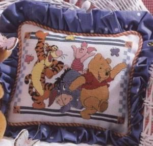 Схема Винни Пух. Подушка