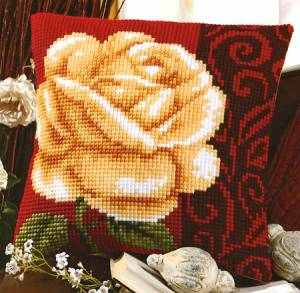 Схема Роза. Подушка
