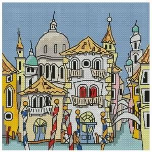 Схема Венецианская улочка