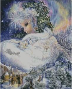Схема Снежная королева