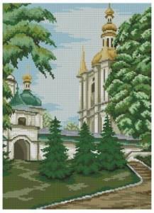 Схема Киево-Печерская Лавра