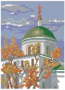 Схема Храм в Ипатьевске