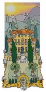Схема Тосканский сад