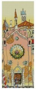 Схема Венецианский дворец. Витраж