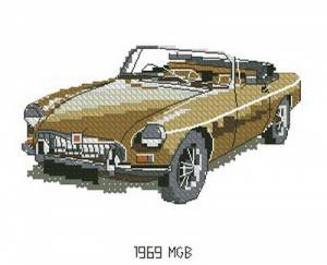 Схема Машина / MGB 1969