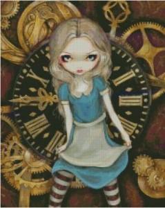Схема Алиса и часы