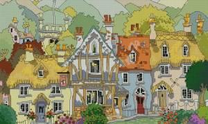 Схема Английская деревня