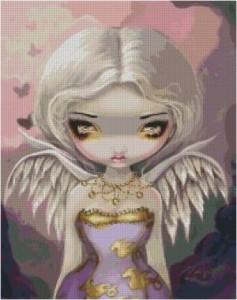 Схема Сиреневый ангел