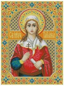 Схема Икона Святая Татьяна