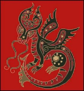Схема Год Дракона