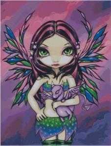 Схема Фиолетовый дракон