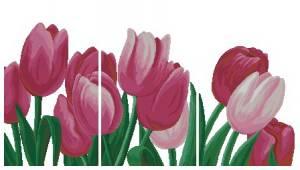 Схема Тюльпаны. Триптих