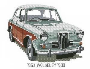 Схема Машина / Wolseley 1500 1963