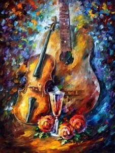 Схема Гитара и скрипка