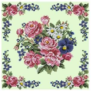 Бесплатно схемы вышивка подушки крестом