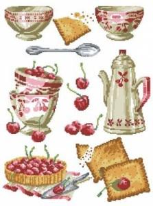 Схема Вишневое чаепитие. Робин