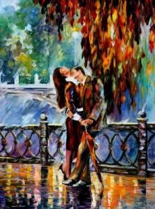 Схема Поцелуй после дождя