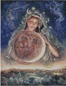 Схема Лунная богиня