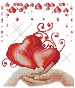 Схема Сердца в ладонях