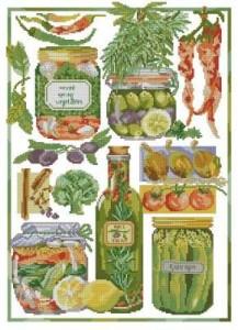 Схема Вегетарианский сэмплер. Робин