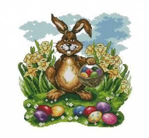 Схема Пасхальный кролик