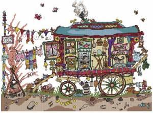 Схема Цыганский вагон