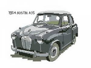 Схема Остин / Austin A35 1954
