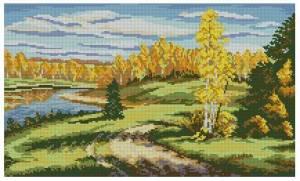 Схема Осень золотая