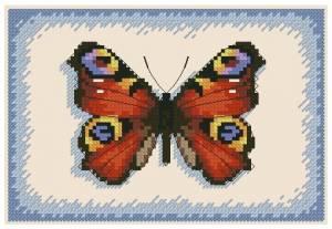 Схема Алая бабочка