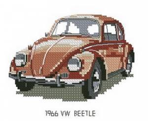 Схема Машина / Beetle VW 1966