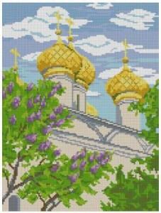 Схема Церковь Иоанна Богослова в Ипатьевской