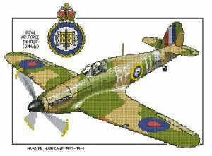 Схема Самолет / Hawker Hurricane