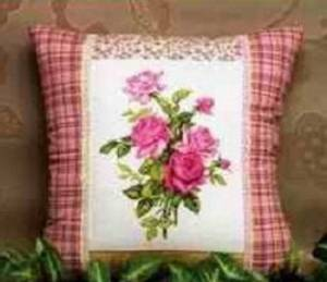 Схема Розы. Подушка