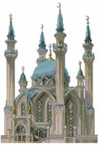 Схема Мечеть Кул-Шариф