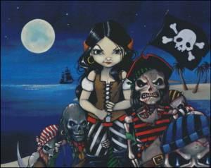 Схема Пиратская жизнь для меня!